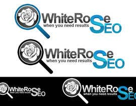 #239 para Logo Design for White Rose SEO (www.whiteroseseo.com) por Egydes