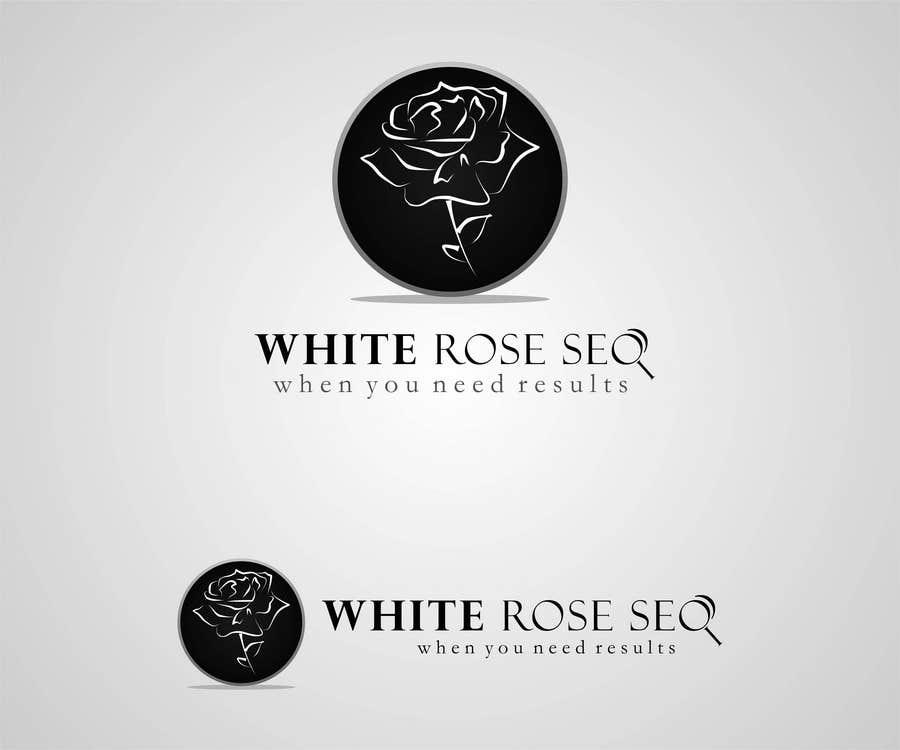 Конкурсная заявка №332 для Logo Design for White Rose SEO (www.whiteroseseo.com)