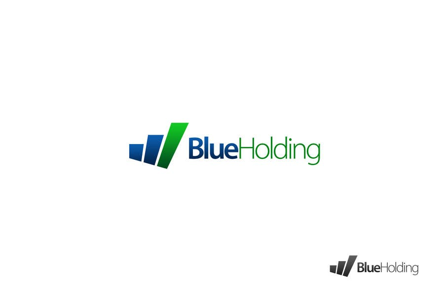 #30 for Logo Design for Blue Holding by ronakmorbia