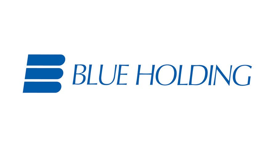 #18 for Logo Design for Blue Holding by george3B2