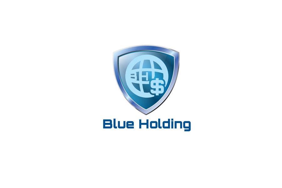 #28 for Logo Design for Blue Holding by emilymwh