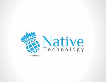 nº 30 pour Native Technology Logo par iffikhan