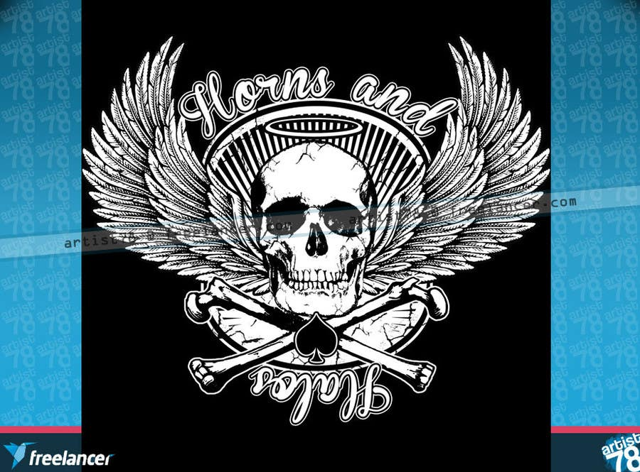 #28 for Design a T-Shirt, HAT AND BANDANAS for BIKERS by artist78