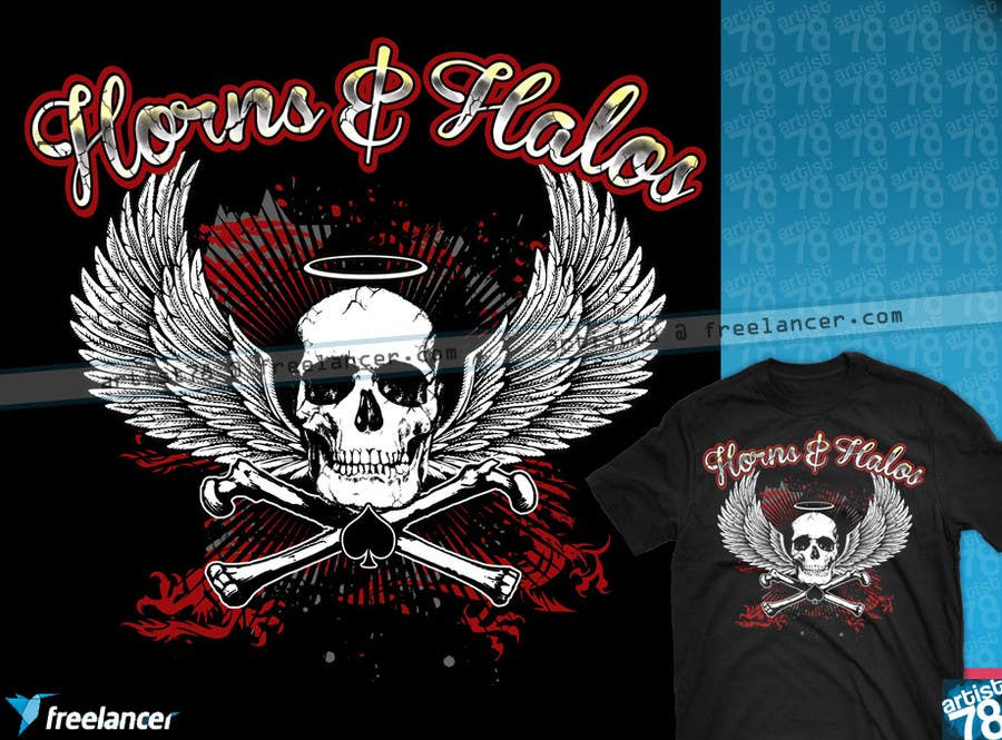 #29 for Design a T-Shirt, HAT AND BANDANAS for BIKERS by artist78