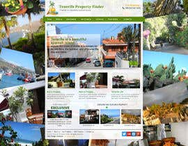 nº 19 pour Design a Website Mockup for a holiday paradise Real Estatate site par sayedphp