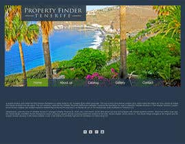 #4 for Design a Website Mockup for a holiday paradise Real Estatate site by Spector01