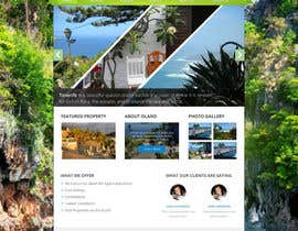nº 9 pour Design a Website Mockup for a holiday paradise Real Estatate site par MiNdfr34k
