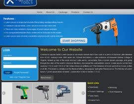 #32 dla Website Design for Ingenious Tools przez acubedesigners