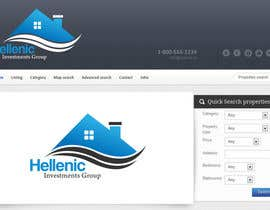 #75 untuk Design a Logo for real estate website header oleh NabilEdwards