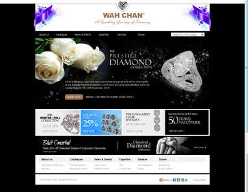 #9 for Website design for a jewellers - Please read the brief. by ejchew
