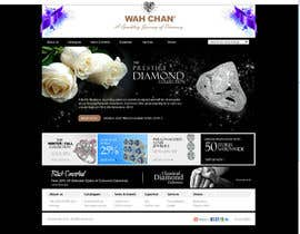 #9 untuk Website design for a jewellers - Please read the brief. oleh ejchew