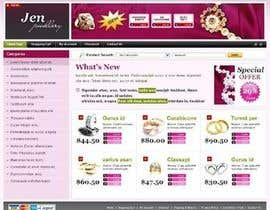 #20 untuk Website design for a jewellers - Please read the brief. oleh Mizanurahman1