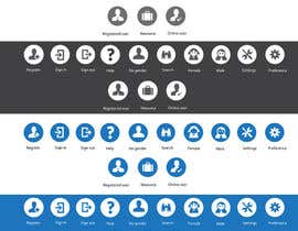 #10 untuk Design some Icons for Website oleh xrevolation
