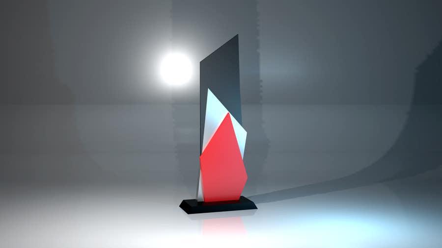 Konkurrenceindlæg #                                        9                                      for                                         Award/Trophy design for 3d Printing