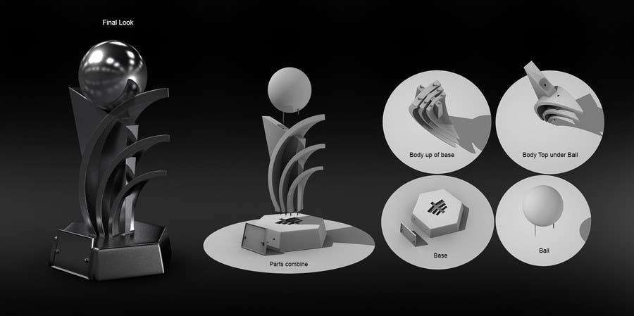 Konkurrenceindlæg #                                        22                                      for                                         Award/Trophy design for 3d Printing