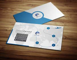 #41 untuk Design some Business Cards for an Import/Export Company, with this logo. oleh deniedart