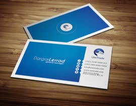#47 untuk Design some Business Cards for an Import/Export Company, with this logo. oleh deniedart