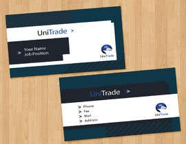 #57 untuk Design some Business Cards for an Import/Export Company, with this logo. oleh IreneSkywalker