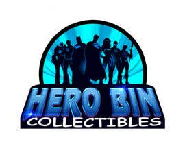 #25 cho Design a Logo for Hero Bin Collectibles bởi ralphkriss831