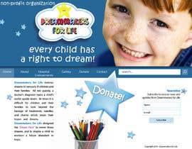 nº 15 pour Design a Website Mockup for http://dreamforlife.org/ par nicoscr