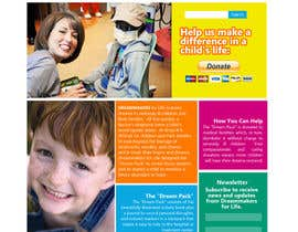 #9 para Design a Website Mockup for http://dreamforlife.org/ por Ashleyperez
