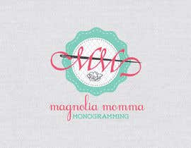 #88 para Design a Logo for Magnolia Momma por crobila