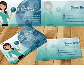 nº 43 pour Design some Business Cards for Atlas Administrative Support par marinza