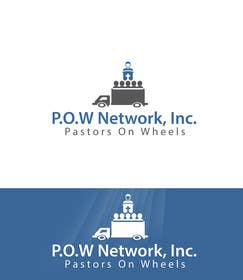 Graphic Design Contest Entry #3 for P.O.W. [Pastors On Wheels]