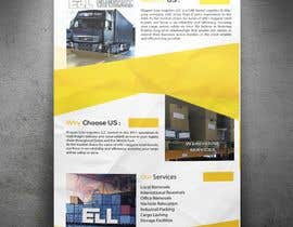 Nro 6 kilpailuun Design a Brochure for a Logistics Company käyttäjältä arunteotiakumar