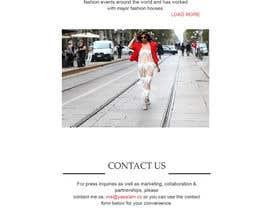 amihalchyk tarafından Fashion Blog Template için no 6