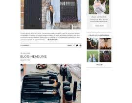 #36 para Fashion Blog Template por ClaudiaWind