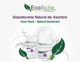 nº 7 pour Ad design for Eco luxurious deodorant par aki8art