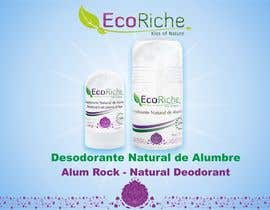 nº 13 pour Ad design for Eco luxurious deodorant par burhandesign