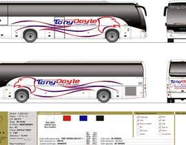 nº 44 pour I need some Graphic Design for exterior of buses par moro2707