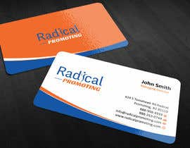 #13 for Design some Business Cards for RadicalPromoting.com af ezesol