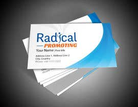 #4 for Design some Business Cards for RadicalPromoting.com af EdisonGraphics
