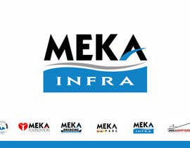 #299 for Logo Design for Meka Infra by smarttaste