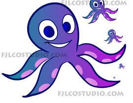 #83 para Design a Logo of a cartoon octopus por fernanlagran