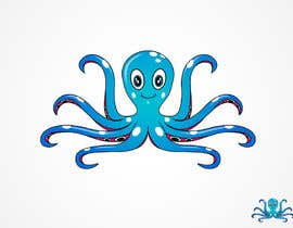#41 para Design a Logo of a cartoon octopus por sat01680