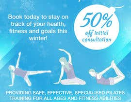#7 for Create a flier for a Pilates Company by natterum