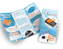 nº 15 pour Brochure Design for SMS Broadcast par creationz2011