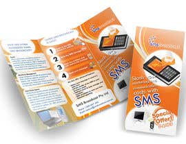 nº 17 pour Brochure Design for SMS Broadcast par creationz2011