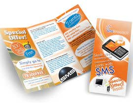 nº 16 pour Brochure Design for SMS Broadcast par creationz2011
