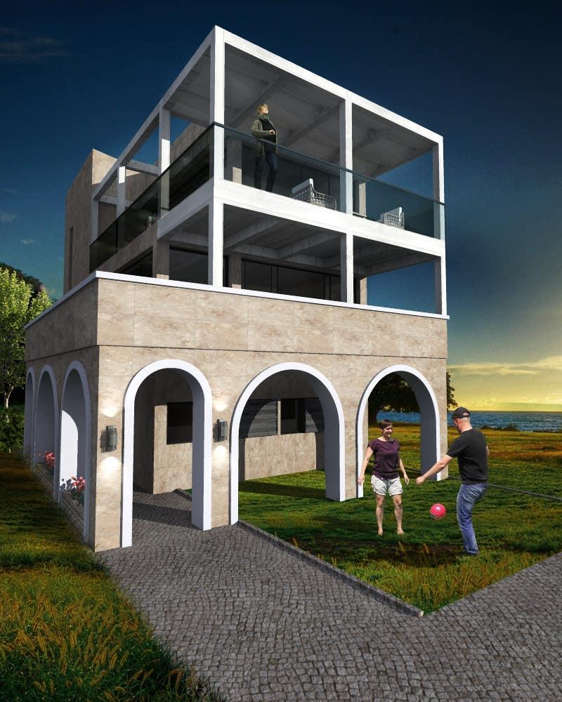 Konkurrenceindlæg #                                        21                                      for                                         Seaside house