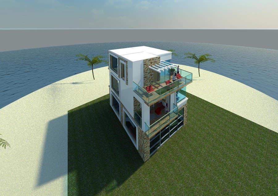 Konkurrenceindlæg #                                        18                                      for                                         Seaside house