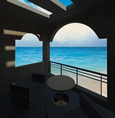 Konkurrenceindlæg #                                        22                                      for                                         Seaside house