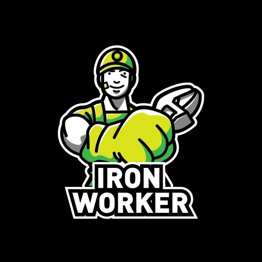 Penyertaan Peraduan #17 untuk Design a T-Shirt for ironworkers members