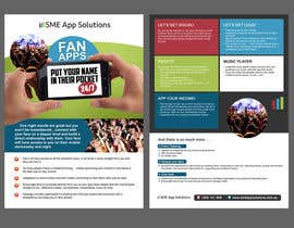 #32 untuk Fact sheet/flyer for a Fan Smartphone App oleh jvencilao