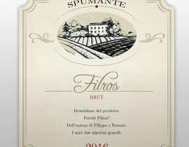 #6 for Etichetta per spumante Filros by Cal1n