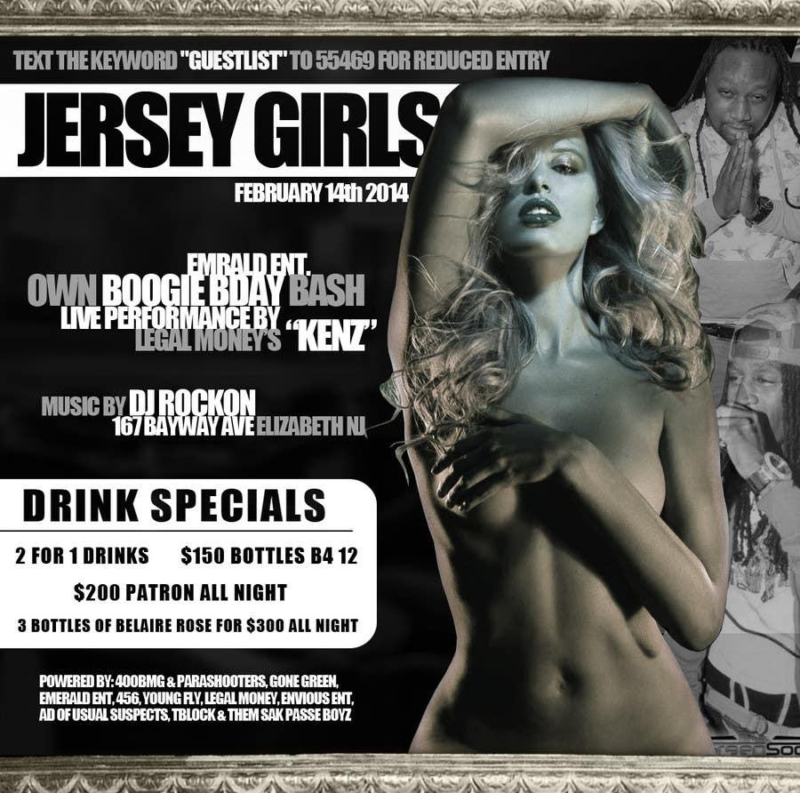 Contest Entry #5 for Design a Flyer for Classy Strip Club Flyer.